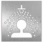 pictogram douche,