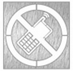 pictogram GSM verbod.